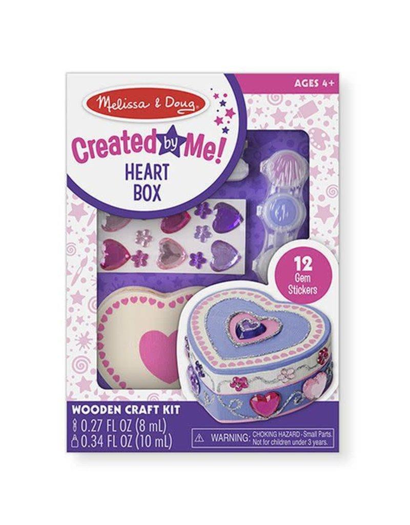 Melissa & Doug Created by Me! Heart Box