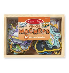Melissa & Doug Wooden Vehicle Magnets