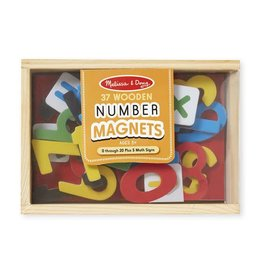 Melissa & Doug Wooden Numbers Magnets