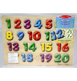 Melissa & Doug Sound Puzzle - Spanish Numbers