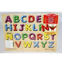 Melissa & Doug Spanish Alphabet Sound Puzzle