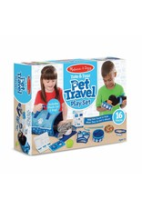 Melissa & Doug Tote & Tour Pet Travel Play Set
