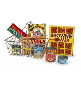 Melissa & Doug Let's Play House! Grocery Basket