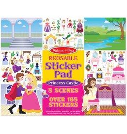 Melissa & Doug Sticker Pad - Princess Castle