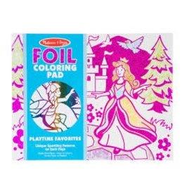 Melissa & Doug Foil Coloring Pad - Playtime Favorites