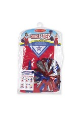 Melissa & Doug Costume - Cheerleader Role Play Set