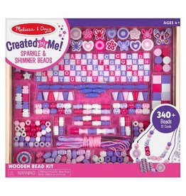 Melissa & Doug Craft Kit Created By Me! Sparkle & Shimmer Beads