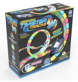 Mindscope Products Twister Tracks 360 Neon Glow Track & Car