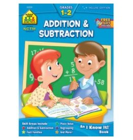 School Zone Workbook - Addition & Subtraction - Grade 1-2