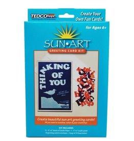 Tedco Toys SunArt Greeting Card Kit