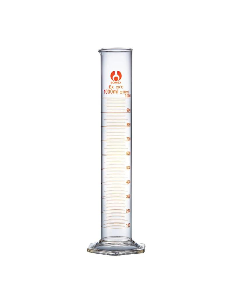 Bomex Glass Graduated Cylinder 1000 mL