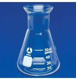 Bomex Glass Erlenmeyer Flask 50 mL