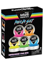 Crazy Aaron Putty Thinking Putty Neon Set