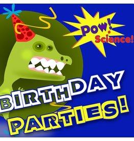 Pow! Science! Birthday Party Deposit