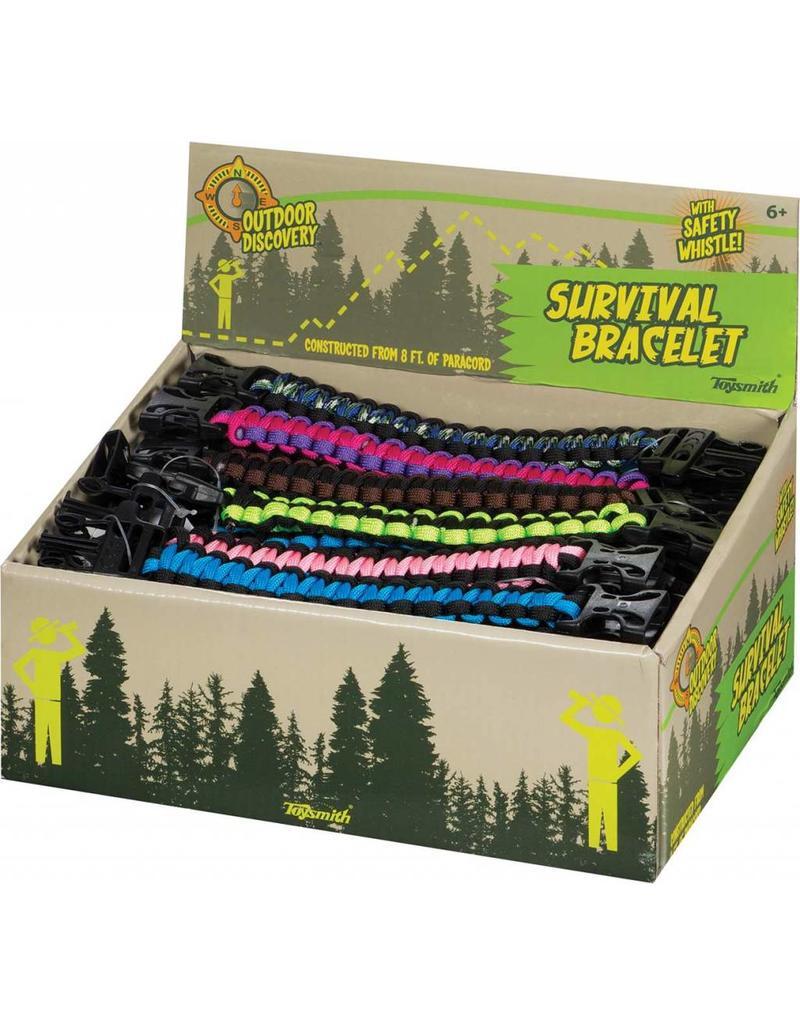 Toysmith Survival Bracelet & Whistle