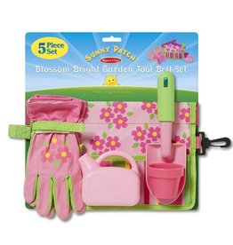 Melissa & Doug Blossom Bright Garden Tool Belt Set