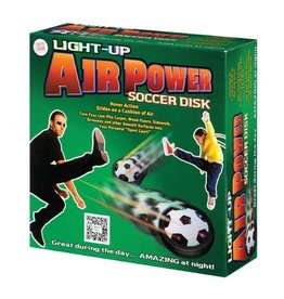 Toysmith Light Up Air Power Soccer Disk