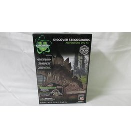 Tedco Toys Dig Kit Stegosaurus Discover