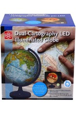 "Elenco 11"" Dual Cartography Illuminated Globe"