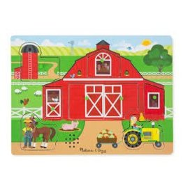 Melissa & Doug Puzzle - Sound Puzzle - Around The Farm