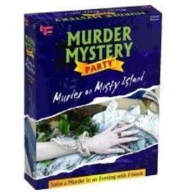University Games Game - Murder Mystery Party - Murder on Misty Island