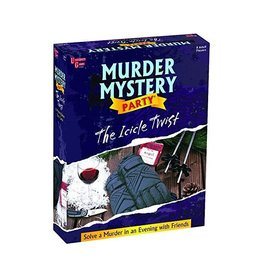 University Games Game - Murder Mystery Party - The Icicle Twist