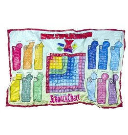 Round world Multiplication Table Scrunch Chart