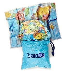 Round world Scrunch Map