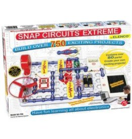 Elenco Science Kit Snap Circuits Extreme 750-in-1 w/ computer interface