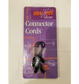 Midwest Educational Products Connector Cords - Black