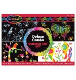 Melissa & Doug Craft Kit Deluxe Combo Scratch Art Set