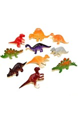 "Rhode Island Novelty ONLINE ONLY Mini Dinosaurs 2"" (Assorted) - Set of 10"