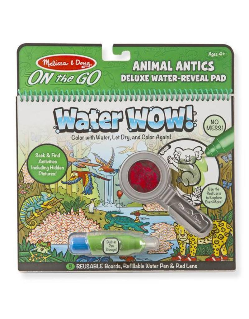 Melissa & Doug On-the-Go Water Wow - Animal Antics Deluxe