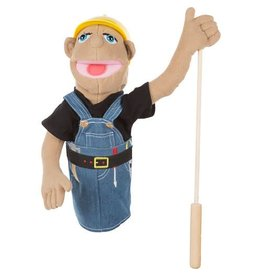 Melissa & Doug Puppet - Construction Worker
