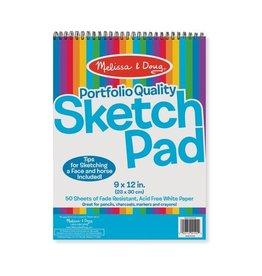 "Melissa & Doug Portfolio Quality Sketch Pad (9""x12"")"