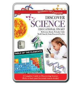 Wonders of Learning Science Kit Discover Science Educational Tin Set