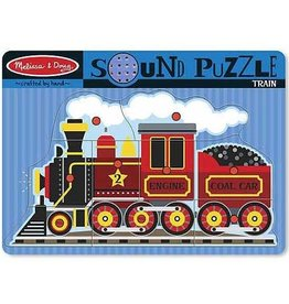 Melissa & Doug Sound Puzzle - Train