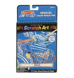 Melissa & Doug On-the-Go - Scratch Art - Vehicles