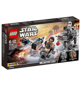 LEGO LEGO Star Wars - Ski Speeder vs. First Order Walker Microfighters