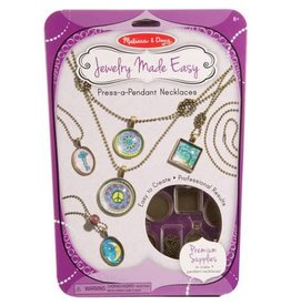 Melissa & Doug Jewelry Made Easy - Press-a-Pendant Necklaces