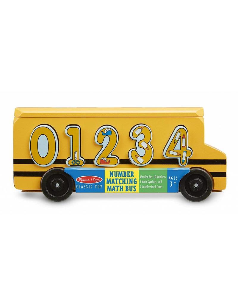 Melissa & Doug Number Matching Math Bus