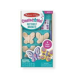 Melissa & Doug Design Your Own Wooden Butterfly Magnets
