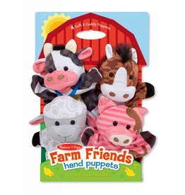 Melissa & Doug Hand Puppets - Farm Friends