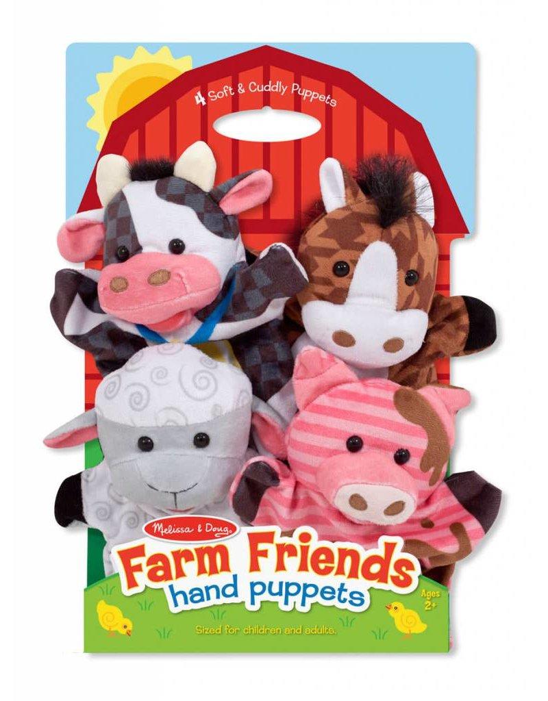 Melissa & Doug Hand Puppets - Farm Friends