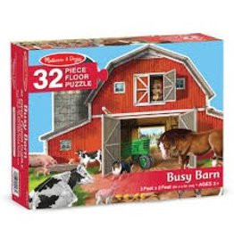 Melissa & Doug Floor Puzzle - Busy Barn - 32 piece