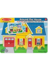 Melissa & Doug Puzzle - Sound Puzzle Around the House