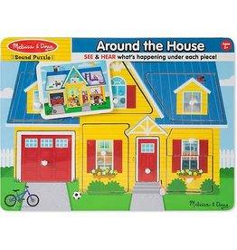 Melissa & Doug Puzzle - Sound Puzzle Around the House