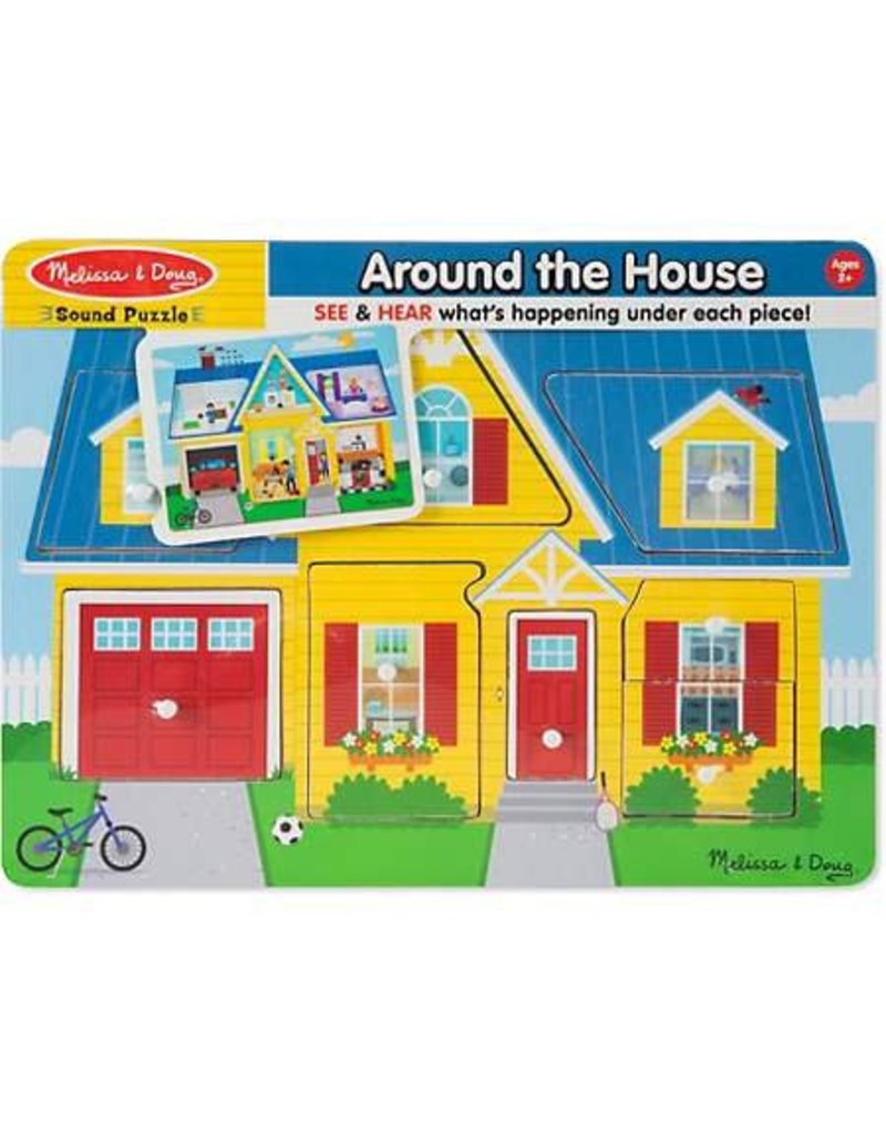 Melissa & Doug Sound Puzzle Around the House
