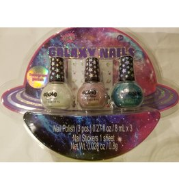 3 Cheers for Girls Galaxy Nails