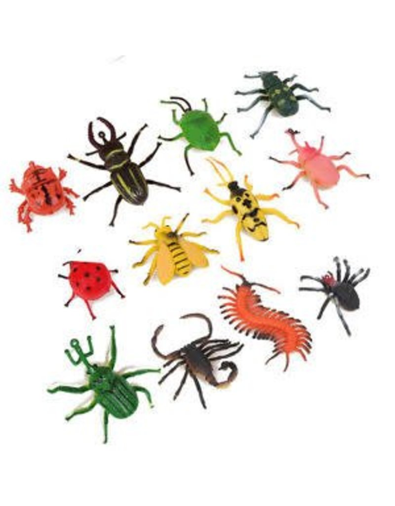 "Rhode Island Novelty Novelty 3"" Plastic Insects and Bugs (Assorted)"